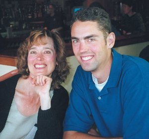 Chris Hamspon, Carol Hampson, mother, son, loss, rock climbing